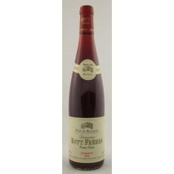 """2013 Pinot Noir AOC """"Tradition"""" Domaine Bott Frères (Restposten! Wenn weg, dann weg!)"""